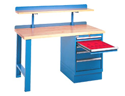 Listau0027s Extensive Selection Of Industrial Storage Workbenches:
