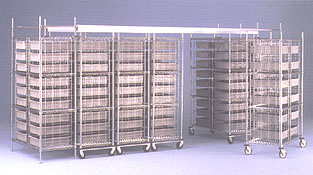 Top-Track High Density Storage System